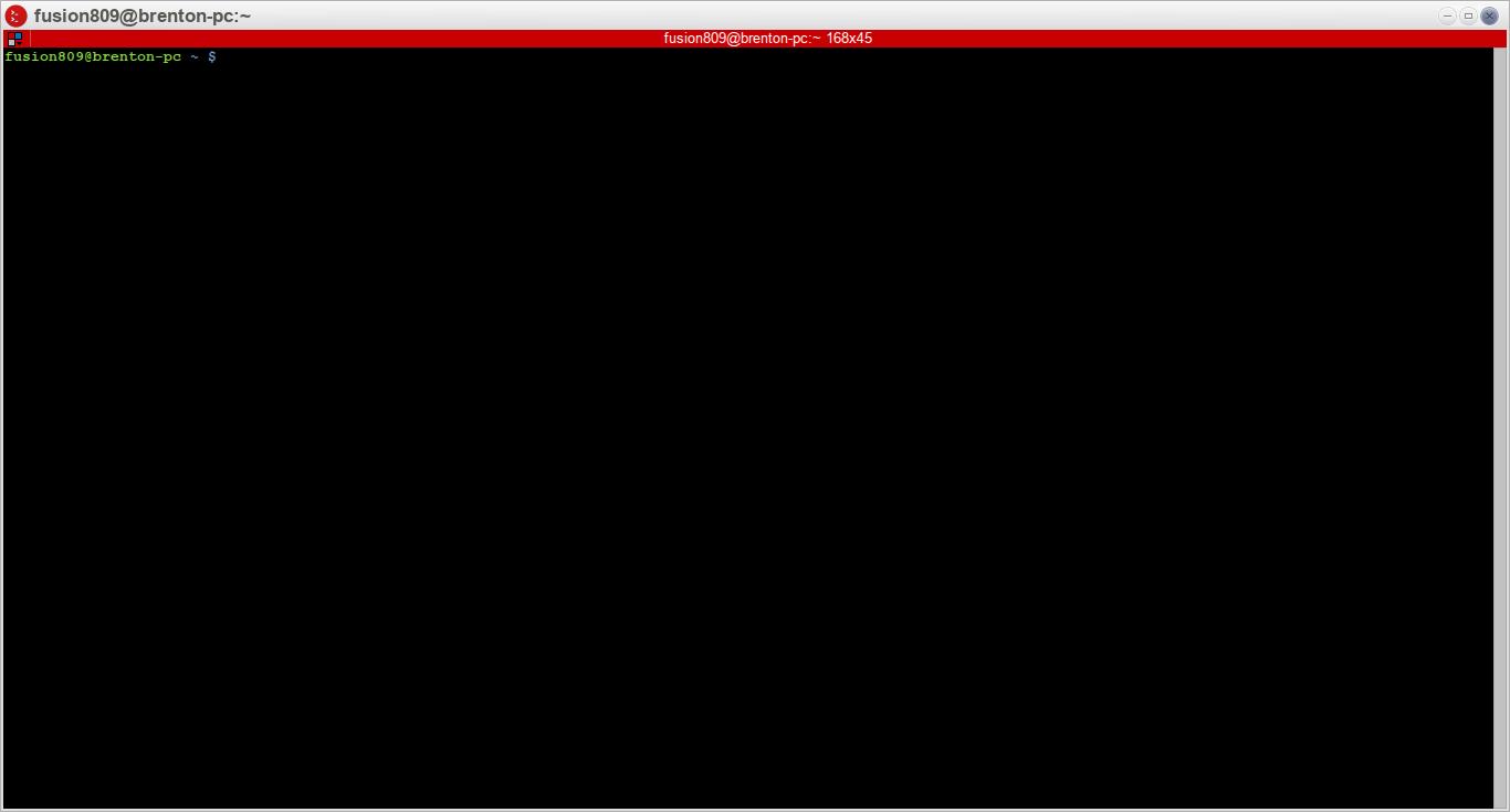 Terminator 0.98 running under Moksha