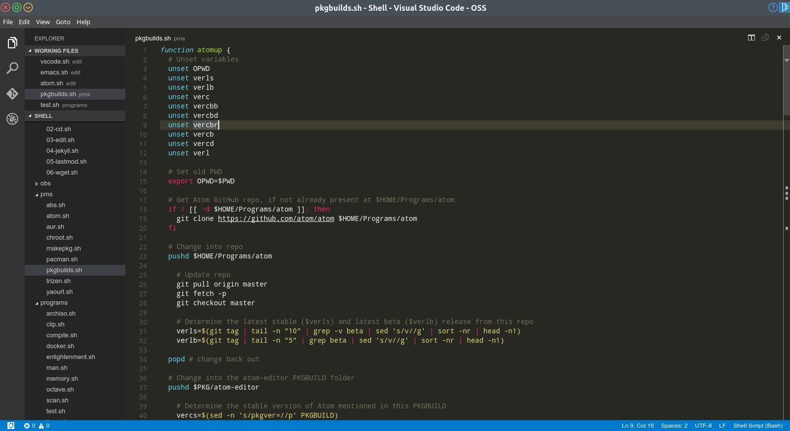An Overview of my Eight Favourite Text Editors and IDEs