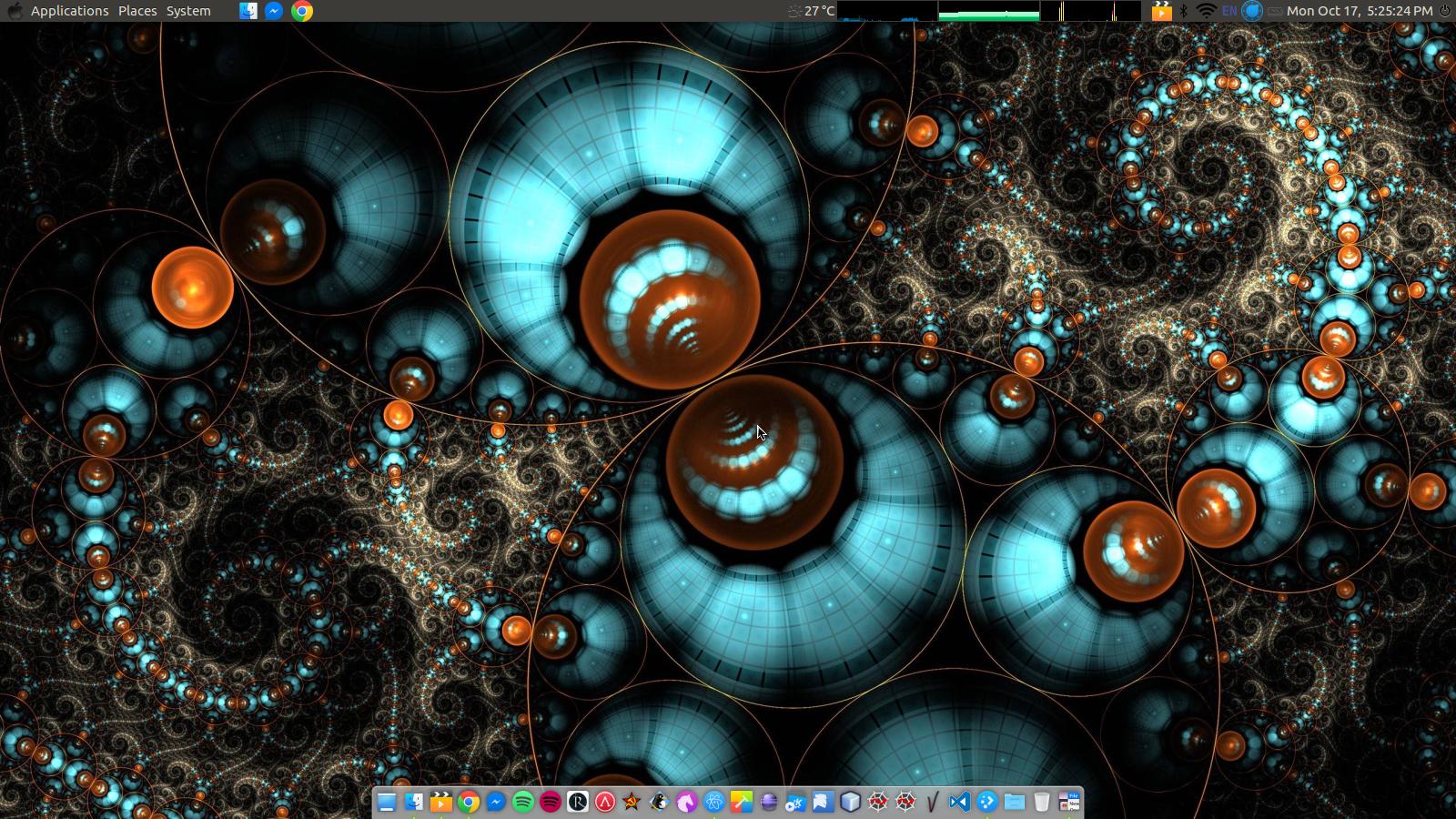 My Ubuntu 16.04 MATE desktop.